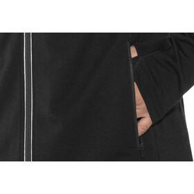 Icebreaker Quantum Chaqueta con capucha manga larga y cremallera Hombre, black
